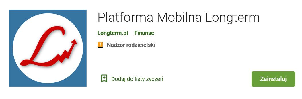 Aplikacja mobilna Longterm na Twoim smartfonie!
