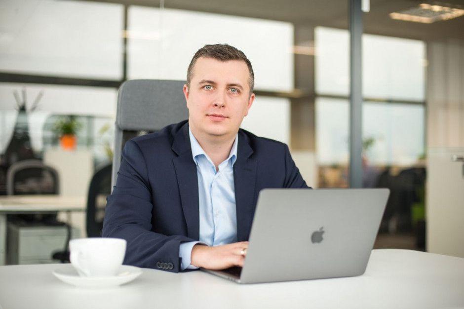 Spotkanie z prezesem Office&Cowork Centre - Łukaszem Kaletą
